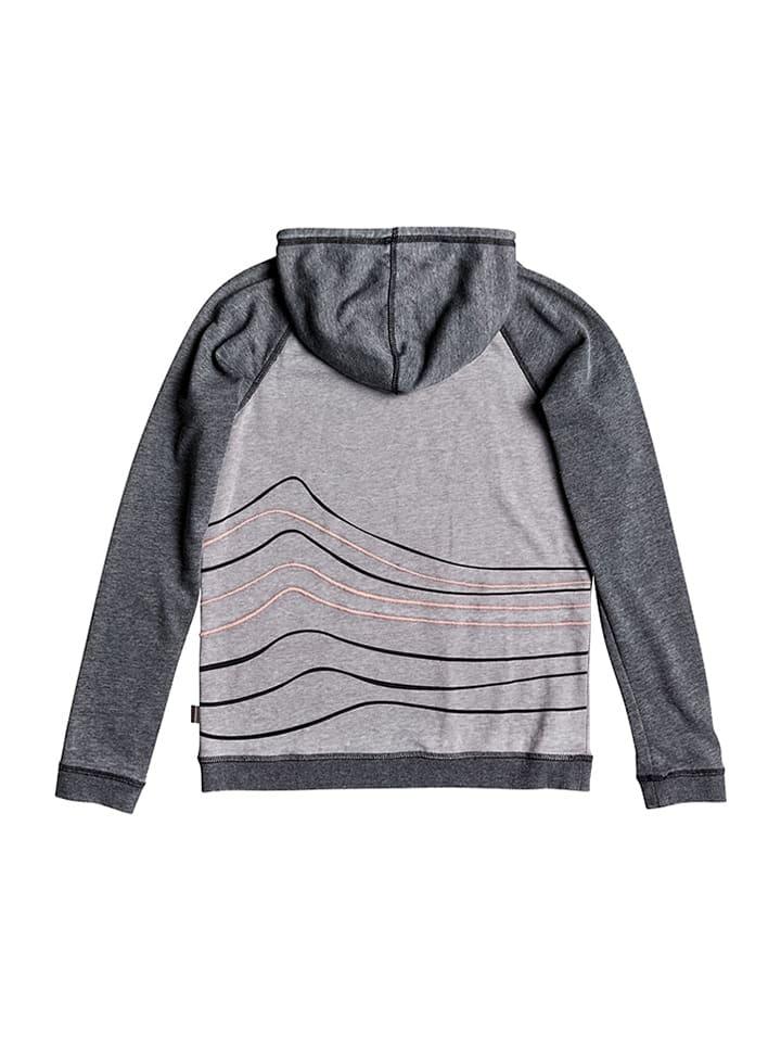 "Roxy Sweatshirt ""Palmparadise"" in Grau/ Hellgrau"