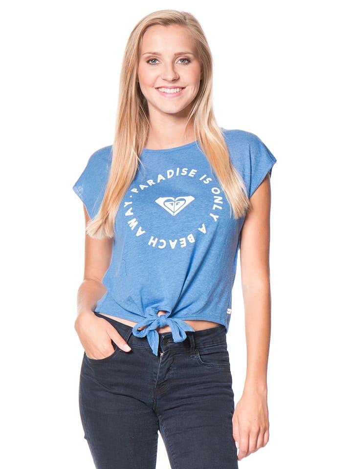 "Roxy Shirt ""Whitt"" in Blau"