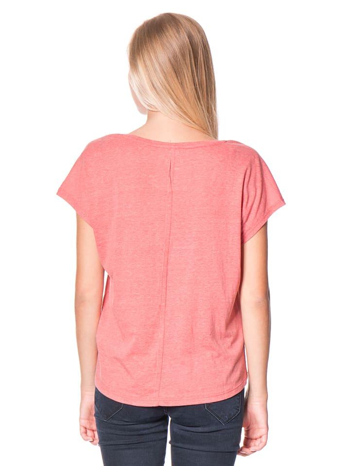 "Roxy Shirt ""Fashdolbeach"" in Koralle"