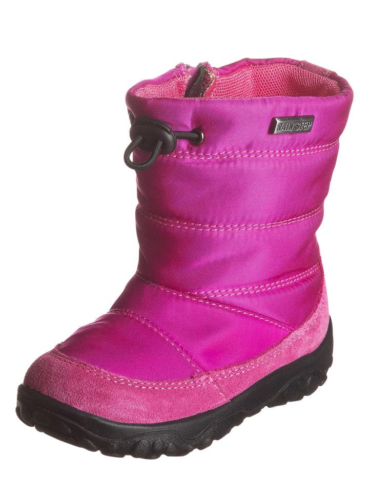 """Naturino Botki """"Poznurr"""" w kolorze różowym"""