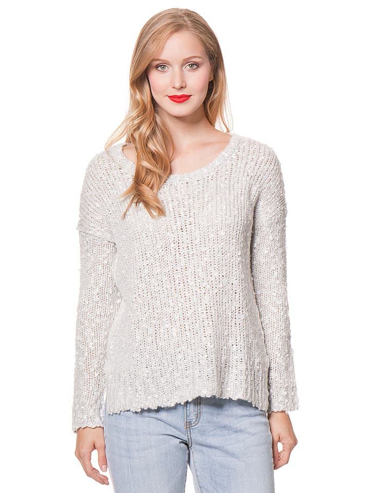 "Billabong Strickpullover ""Just Because"" in Grau"