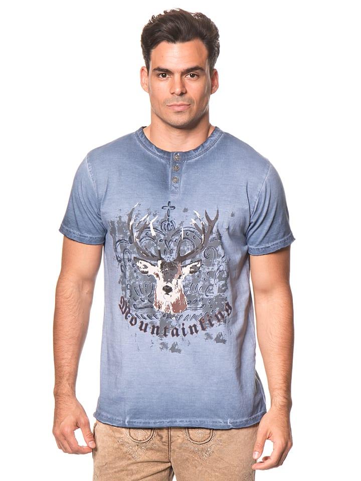 """LEKRA Shirt """"Lars"""" in Blau"""