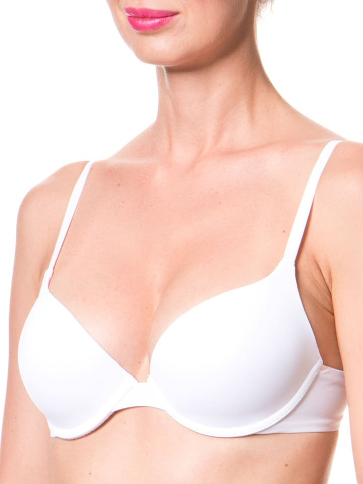 Wonderbra Push-up-BH in Weiß