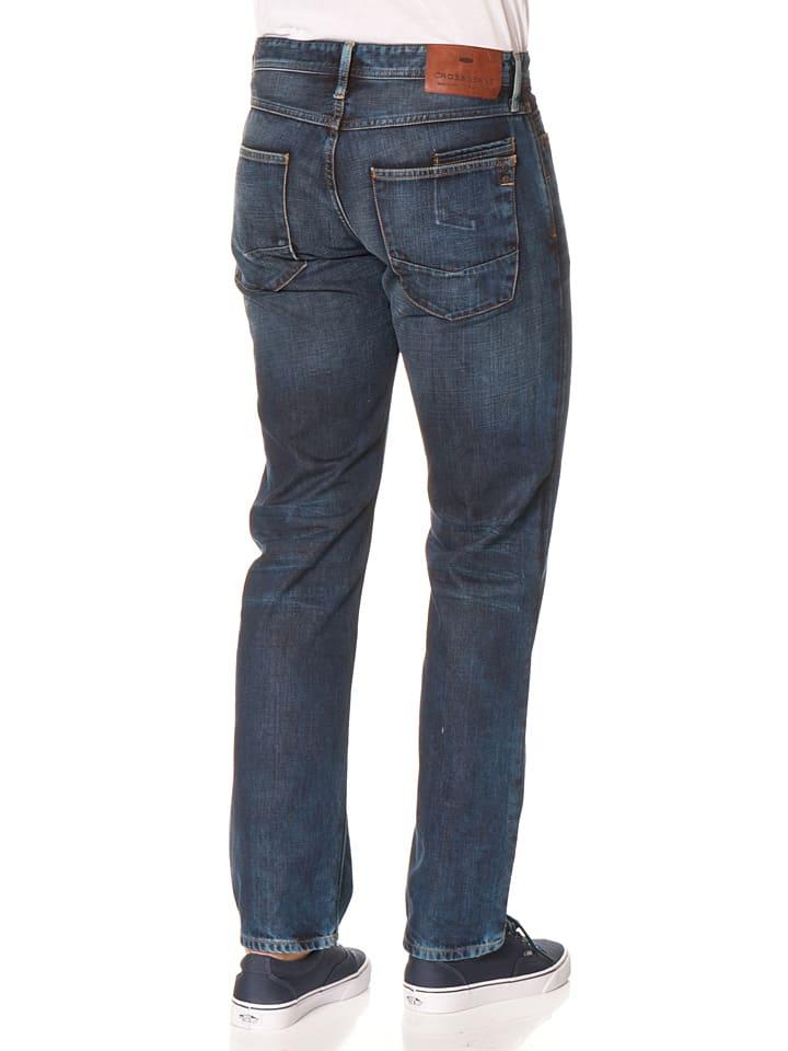 "Cross Jeans Jeans ""Antonio"" - Regular fit - in Dunkelblau"