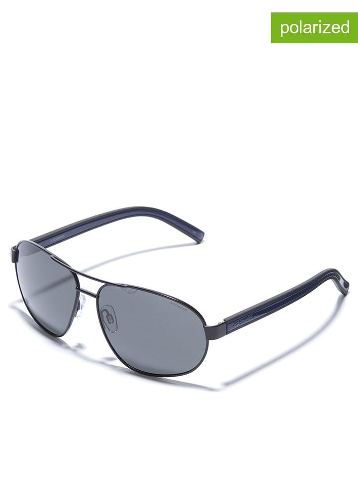 Polaroid - Lunettes de soleil - homme - bleu foncé noir   Outlet limango e559042586c8