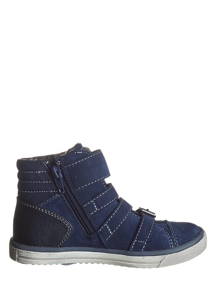 Lurchi Leder-Sneakers in Dunkelblau