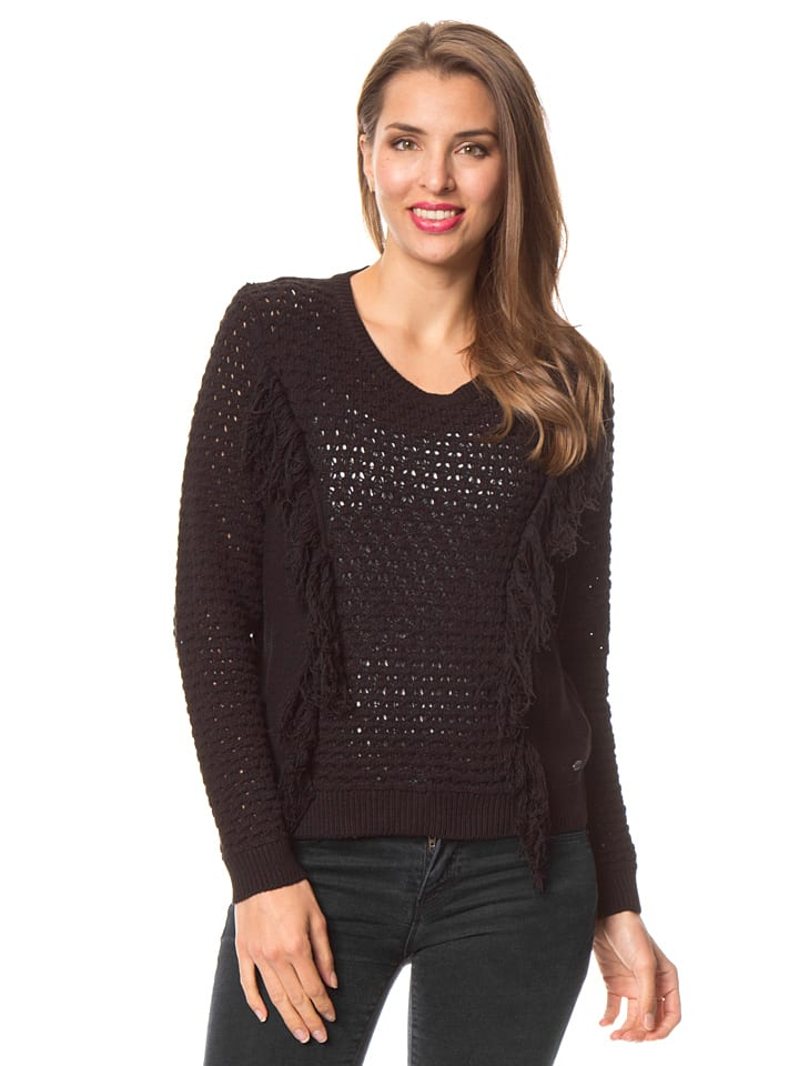 Tom Tailor Pullover in Schwarz
