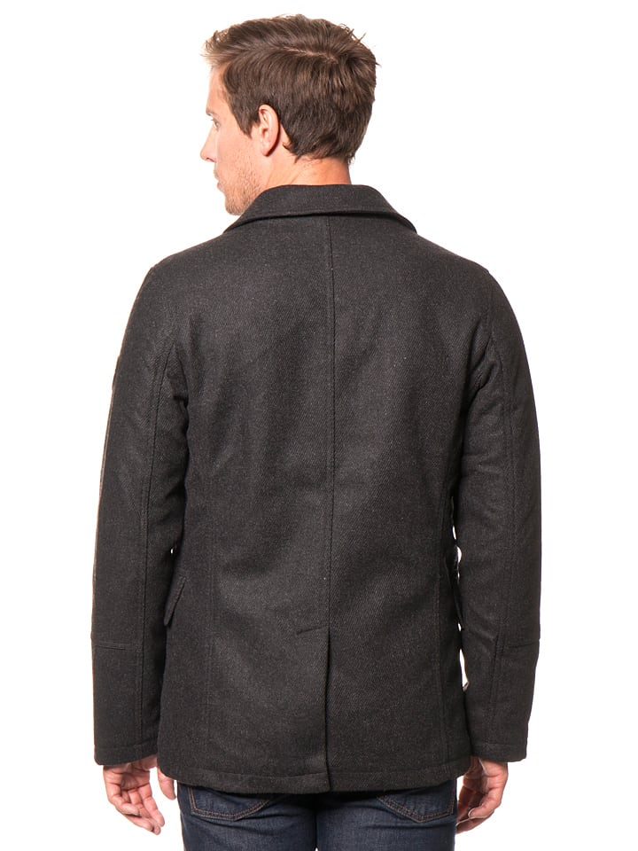 Tom Tailor Jacke in Schwarz