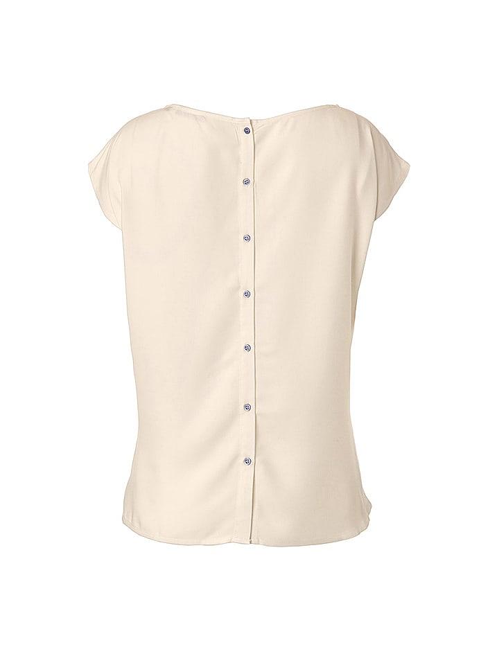 "Flip Flop Shirt ""Huipil"" in Creme"