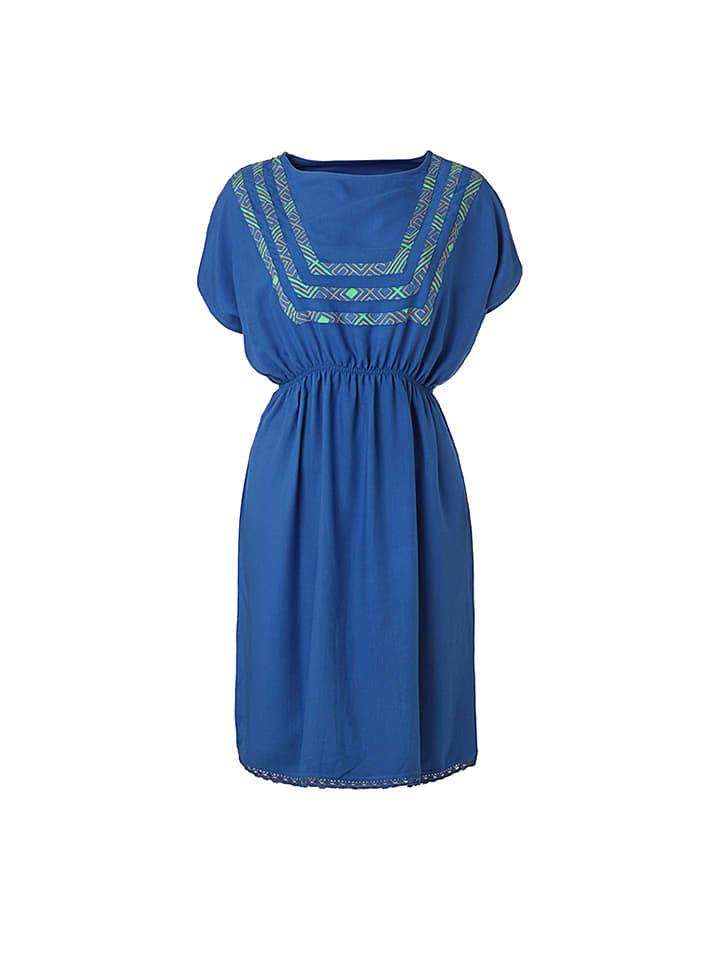 """Flip Flop Kleid """"Arlinda"""" in Blau"""