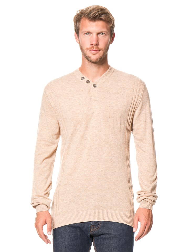 William de Faye Pullover in Beige