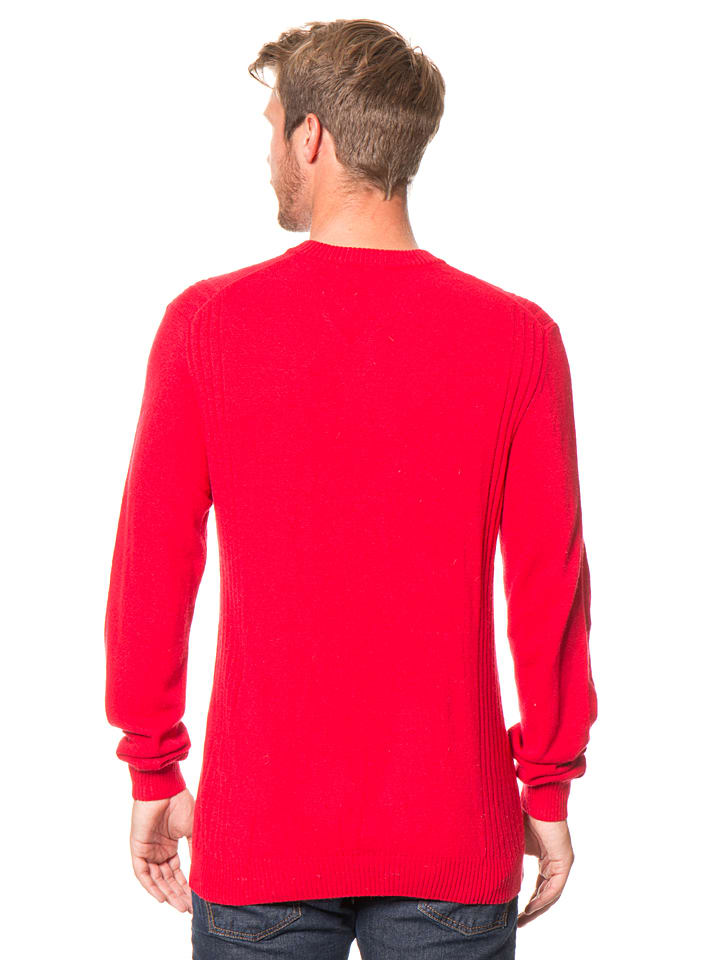 William de Faye Pullover in Rot
