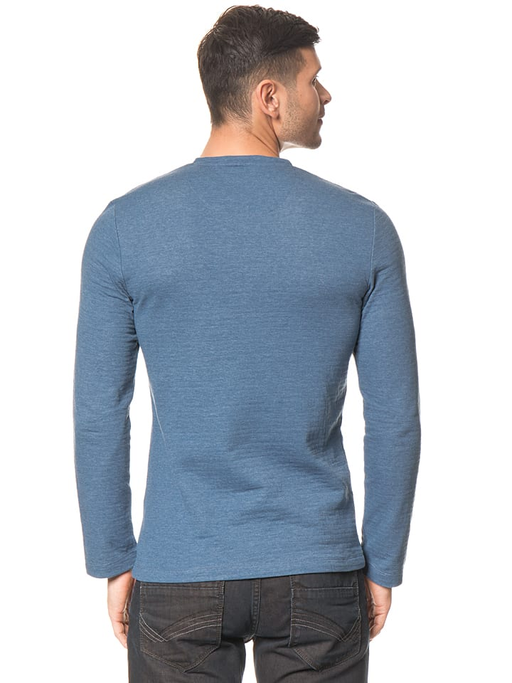 Tom Tailor Longsleeve in Blau
