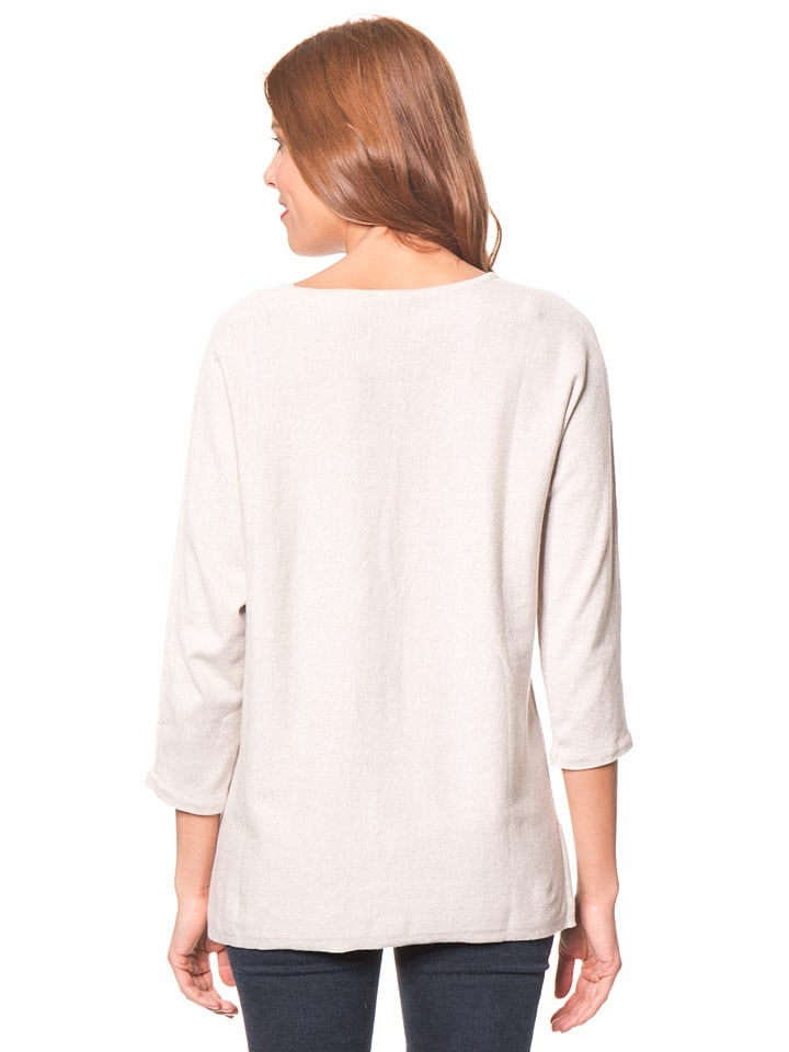 Tom Tailor Pullover in Beige