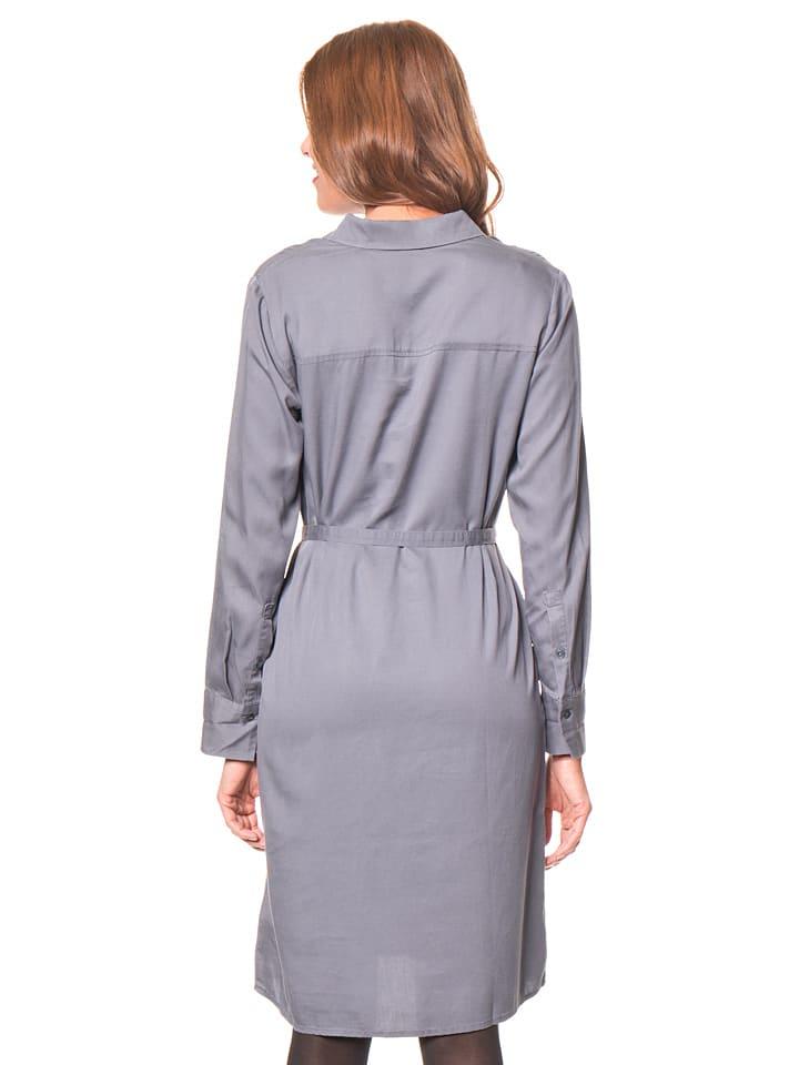 Tom Tailor Kleid in Blaugrau