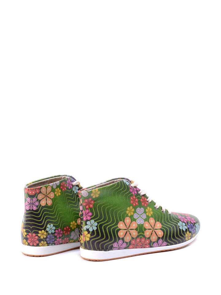 Goby Sneakers in Grün/ Bunt