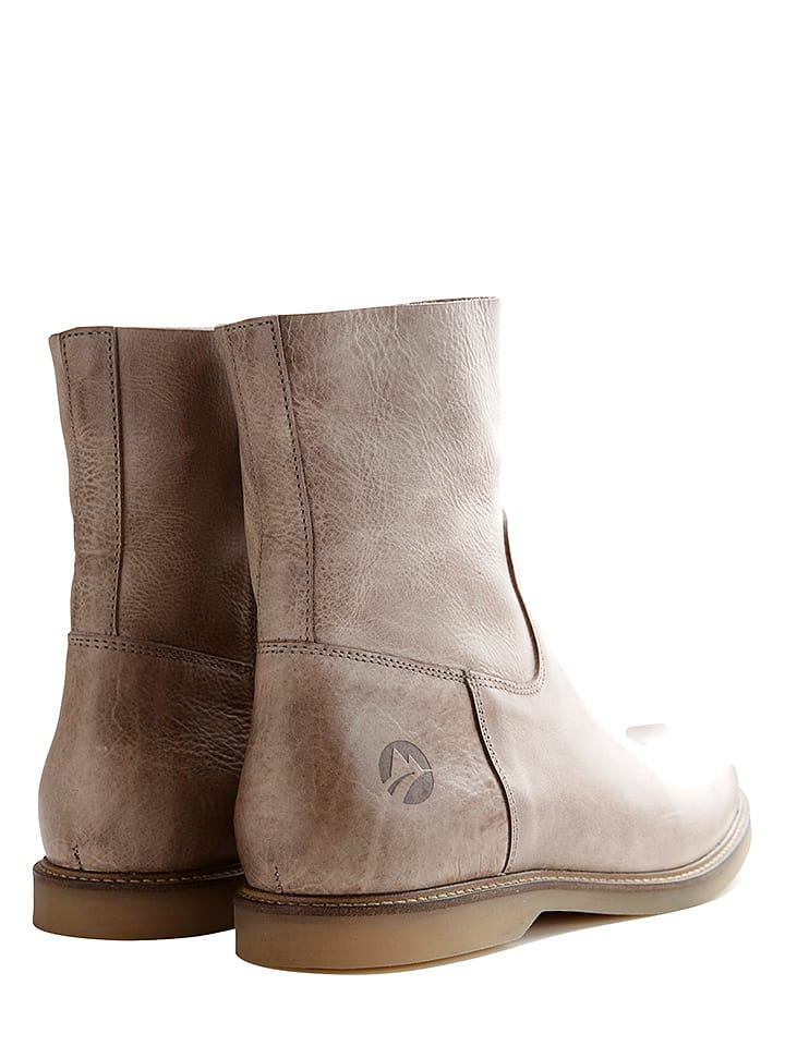 TRAVELIN' Leder-Boots Marseille in Dunkelblau - 57% aul9P
