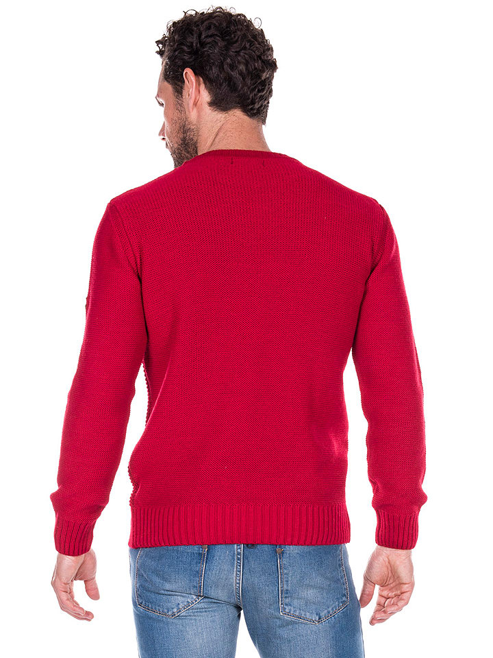 GIORGIO DI MARE Pullover in Rot