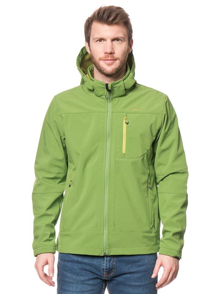 CMP Softshelljacke in Grün