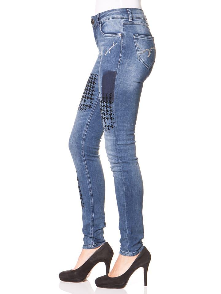 """Desigual Jeans """"Dina"""" in Blau"""