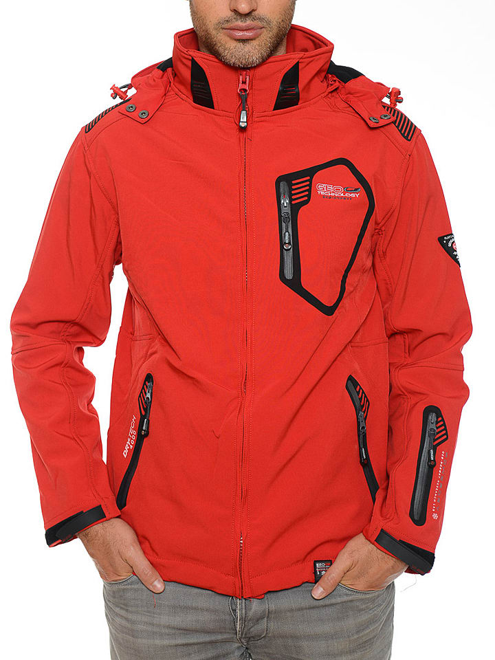 "Geographical Norway Softshelljacke ""Tephiline"" in Rot"