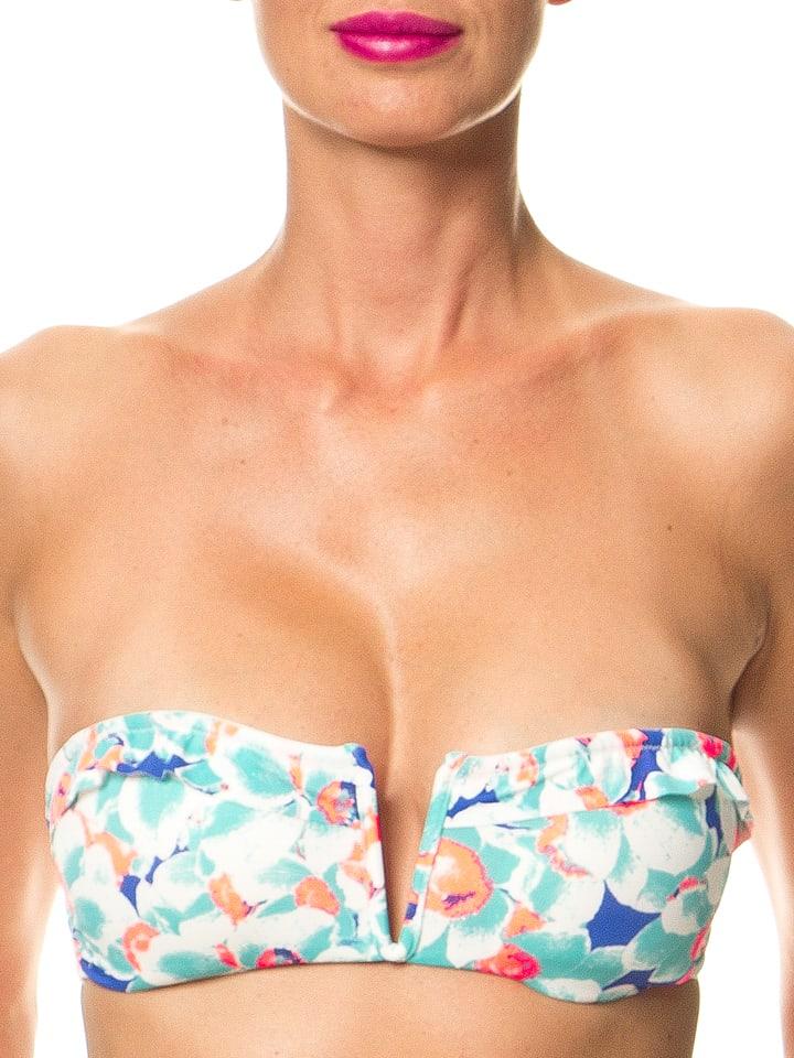 Skiny Bikinioberteil in Grün/ Bunt