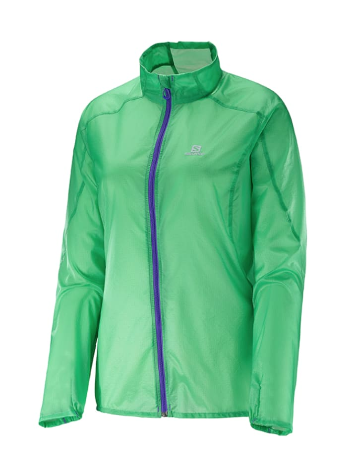 "SALOMON Laufjacke ""Fast Wing"" in Mint"