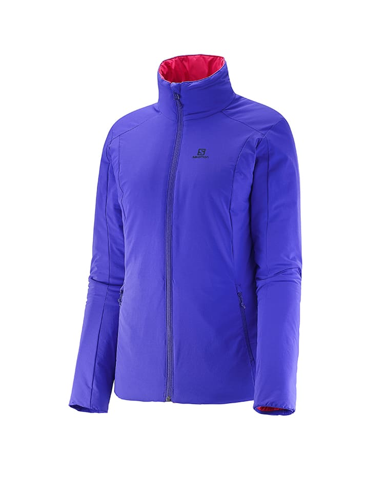 "SALOMON Funktionsjacke ""Drifter"" in Violett"