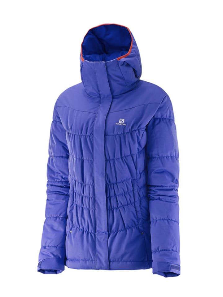 """SALOMON Ski-/ Snowboardjacke """"Stormpulse"""" in Violett"""