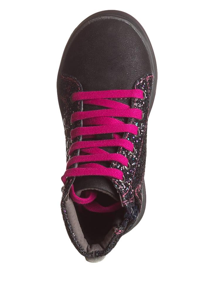 Lea Lelo Sneakers in Dunkelblau/ Fuchsia