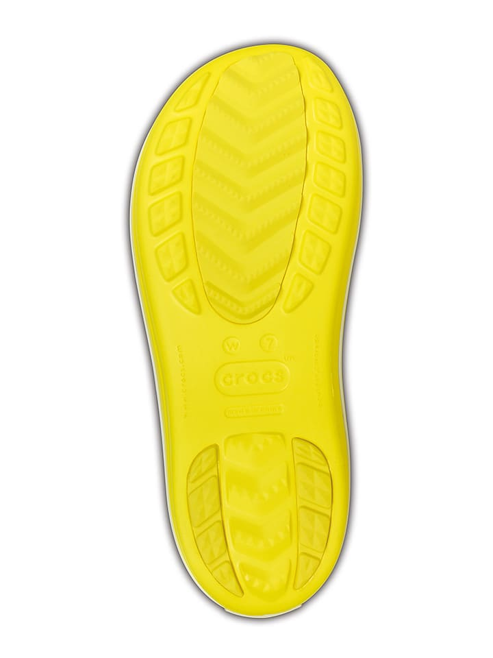"Crocs Gummistiefel ""Crocband Jaunt"" in Gelb"
