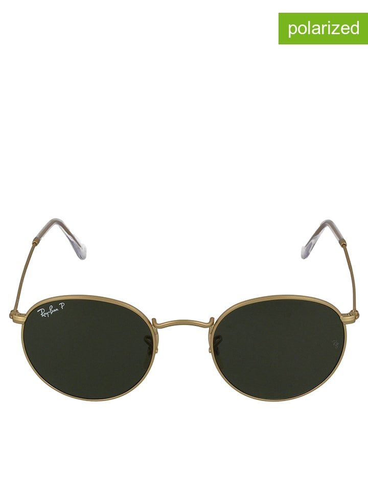ray ban unisex sonnenbrille round metal