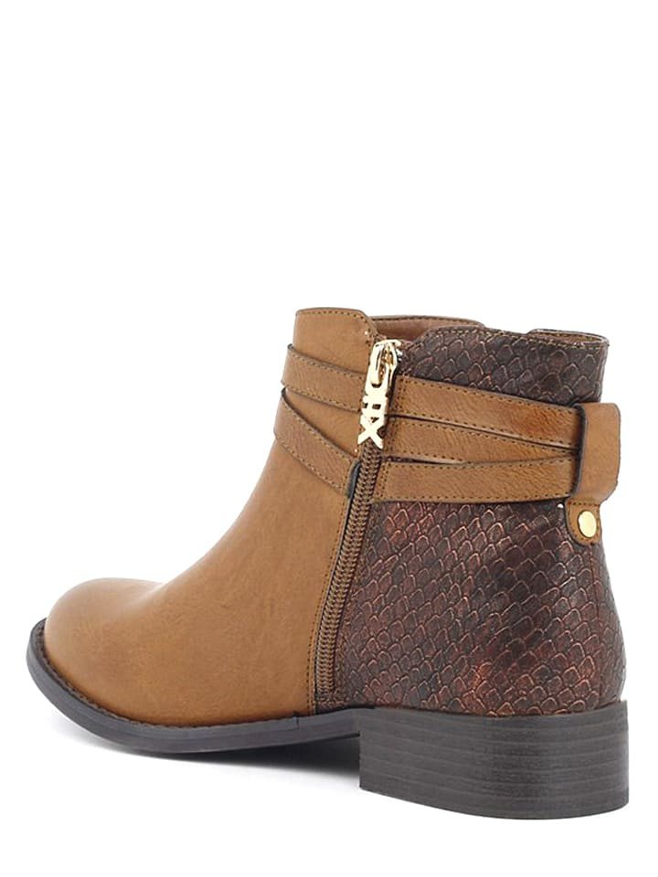 Xti Ankle-Boots in Hellbraun - 64% 2JYquK
