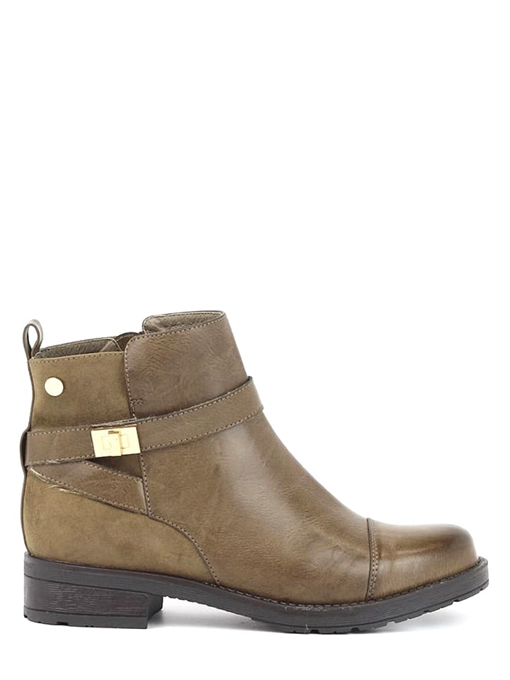 Xti Enkelboots taupe