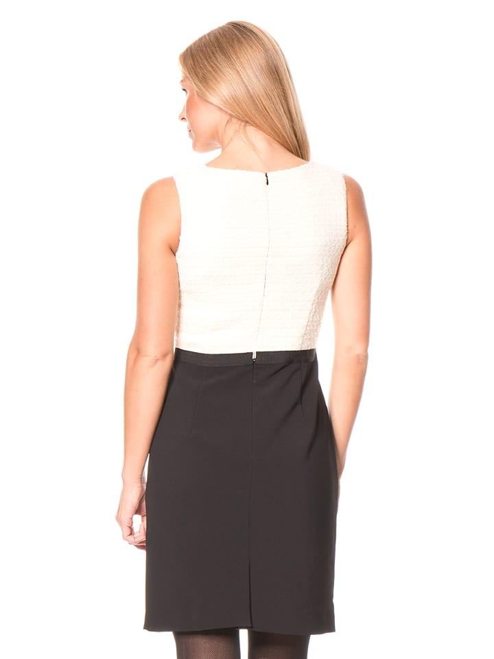More & More Kleid in Schwarz/ Creme