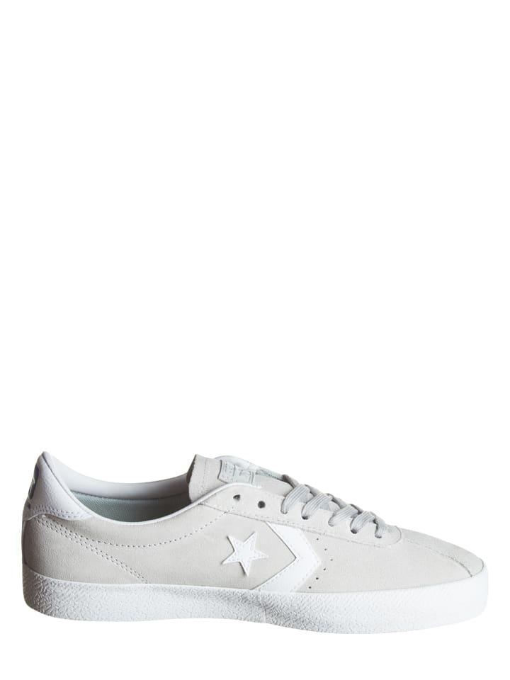 Converse Leder-Sneakers in Grau