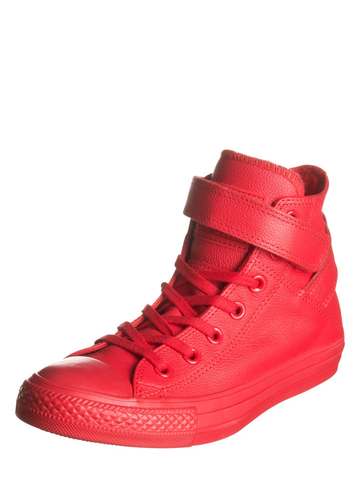 Converse Leder-Sneakers in Rot