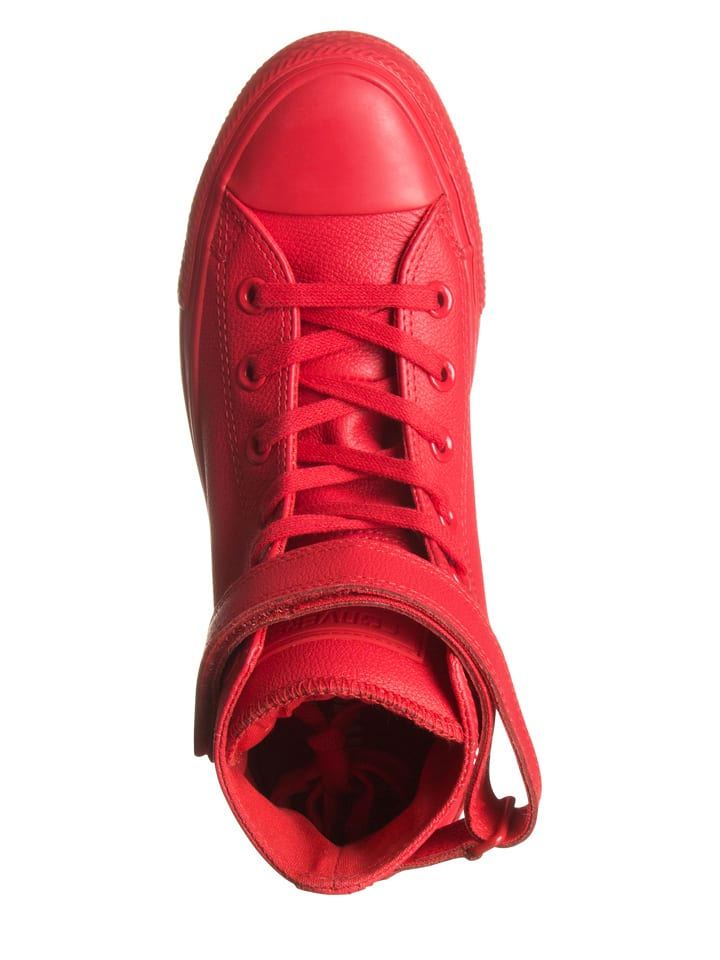 Converse Leder-Sneakers in Rot - -3099% 3Eyqtn