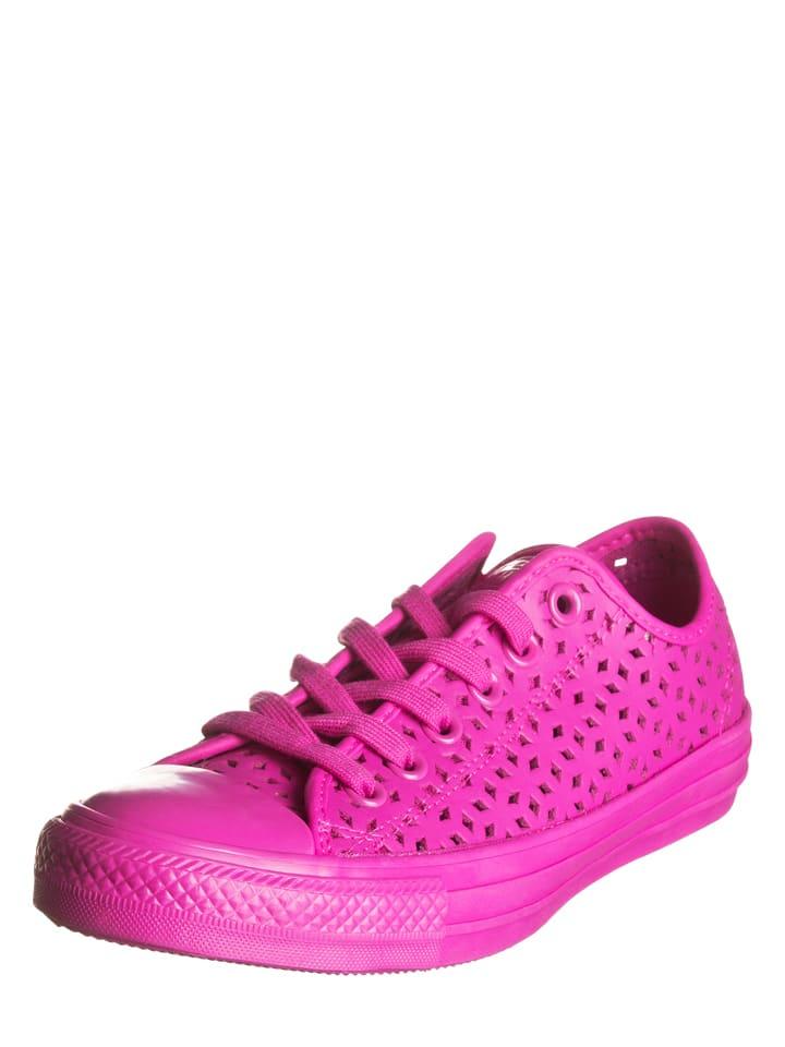 Converse Leder-Sneakers in Pink