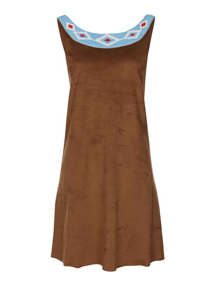 MyMo Kleid in Braun