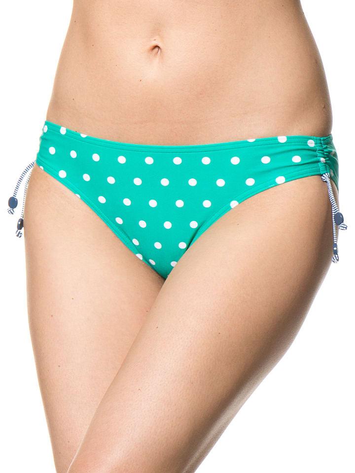 """ESPRIT Figi bikini """"Bondi Beach"""" w kolorze turkusowo-białym"""