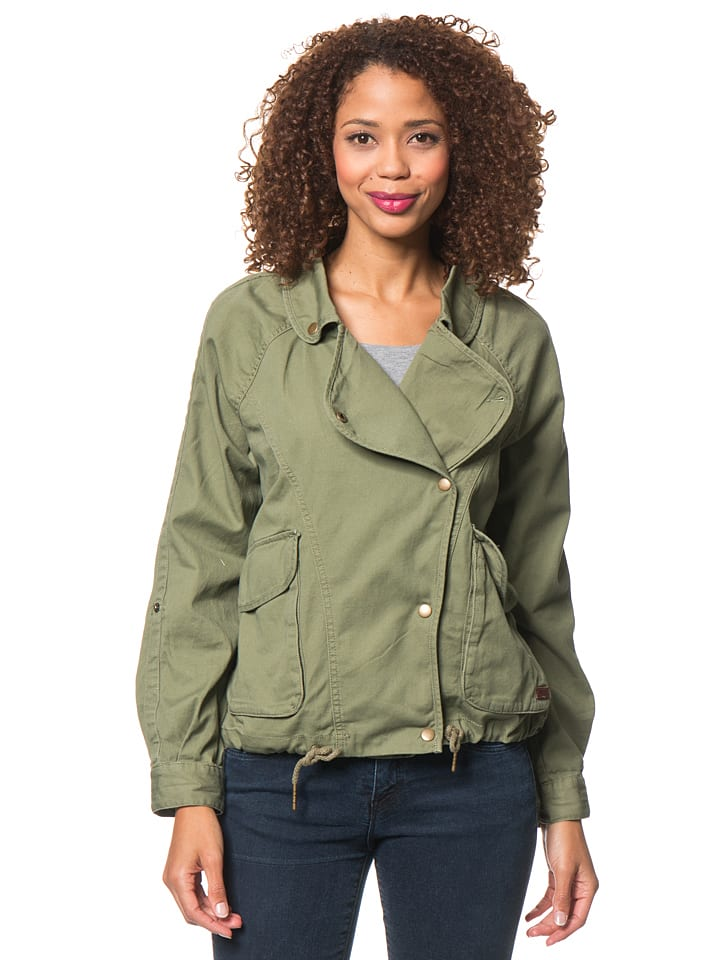 "Roxy Jacke ""Watch"" in Khaki"