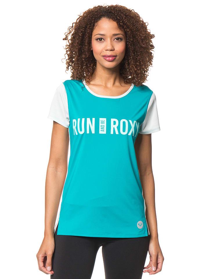 "Roxy Funktionsshirt ""Cutback"" in Türkis/ Mint"