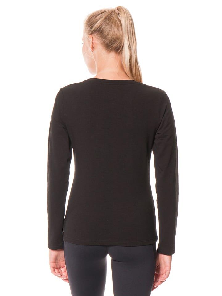 """E.A.R.C. Sweatshirt """"Donna"""" in Schwarz"""