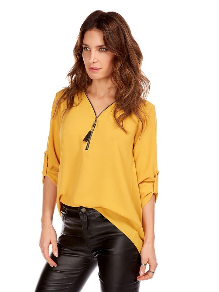 """Jo & Jil Shirt """"Calla"""" in Gelb"""