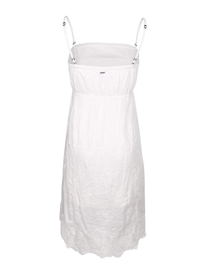 DreiMaster Kleid in Weiß