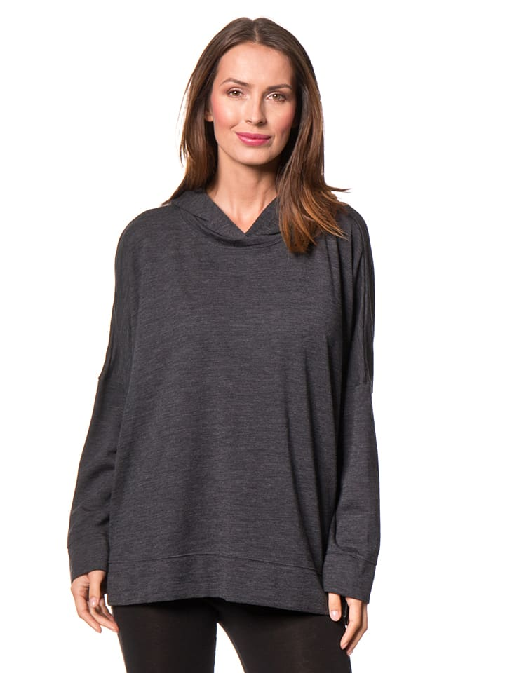 "Schiesser Revival Sweatshirt ""Erna"" in Anthrazit"