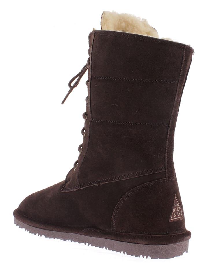 "NICEBAY Leder-Stiefel ""Sofya"" in Braun"