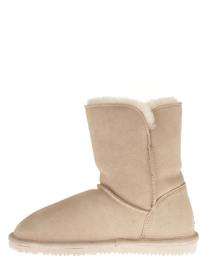 "NICEBAY Leder-Boots ""Maya"" in Beige"