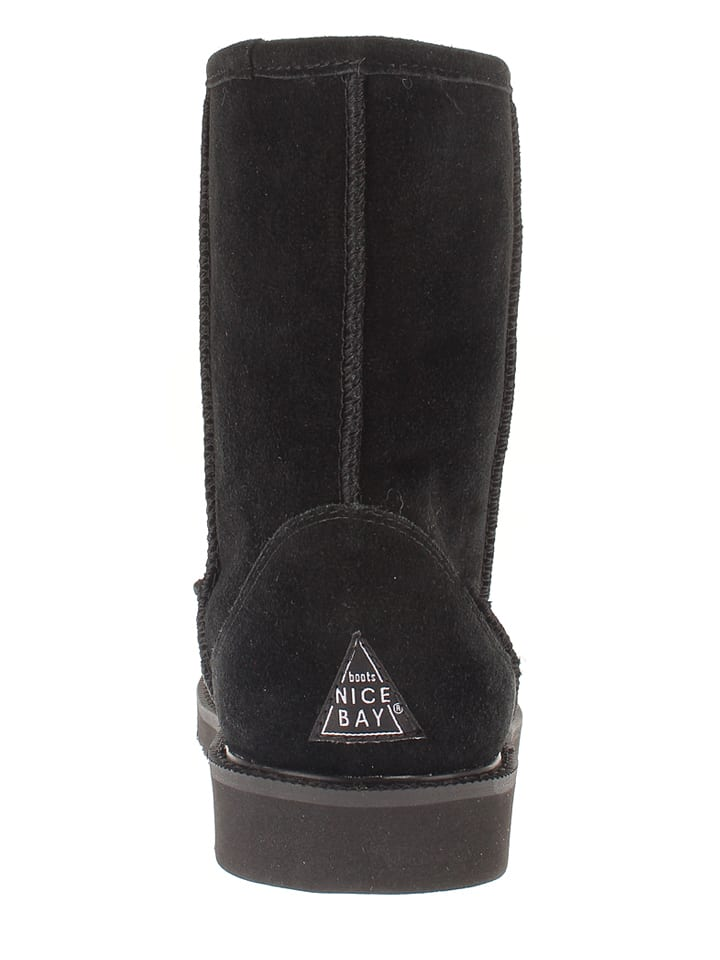 "NICEBAY Leder-Boots ""Nirvana Waterproof"" in Schwarz"